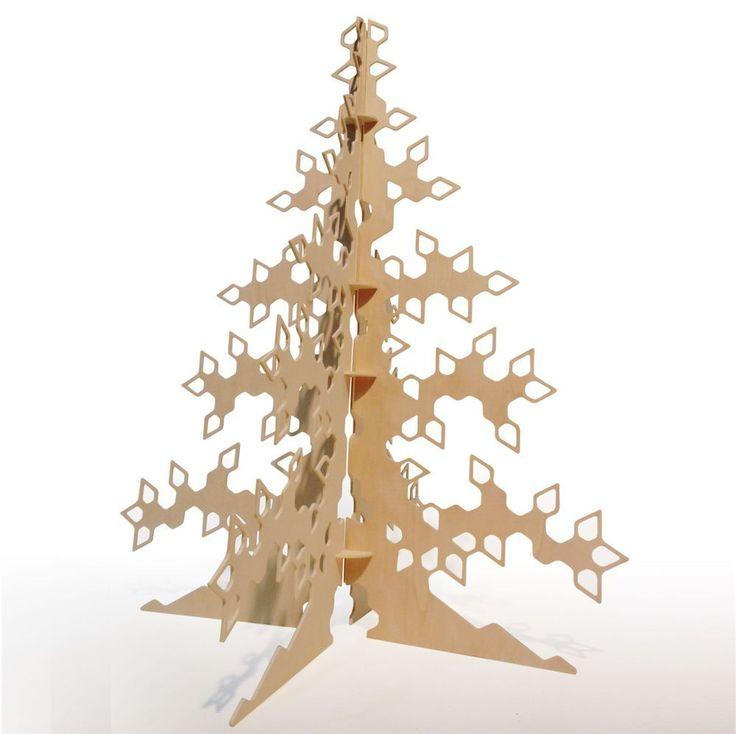 Árbol modular en madera laminada /Modular tree in playwood