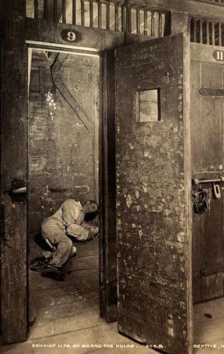 convict prison cell