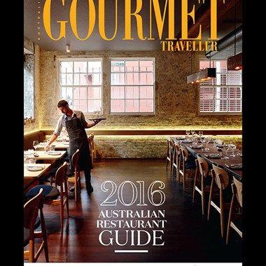 Australian Gourmet Traveller Restaurant Guide list of the top 10 restaurants in Sydney.