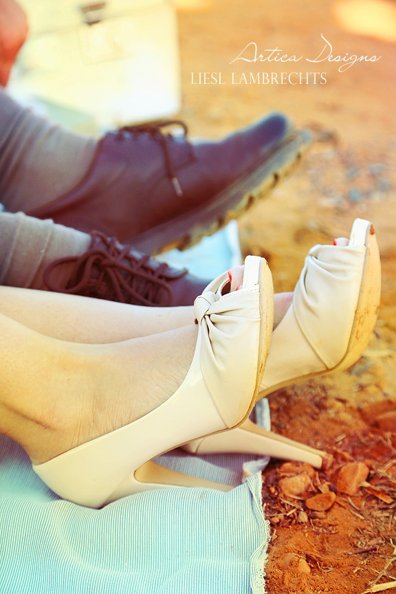 Vintage shoot - shoes!