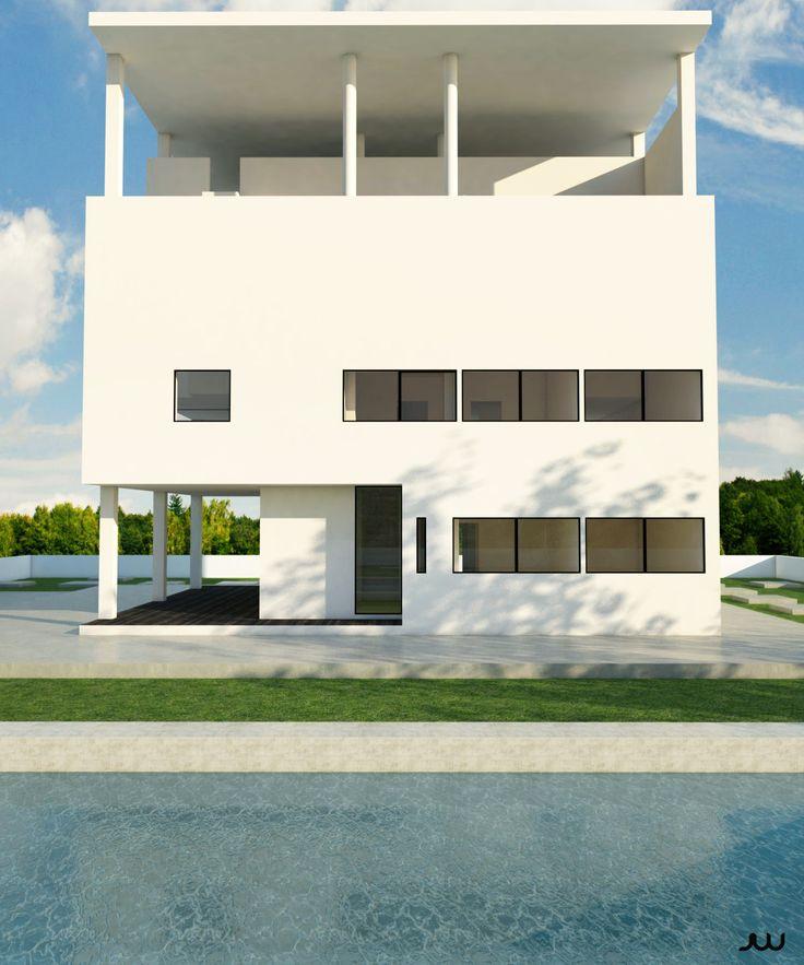 Villa baizeau le corbusier by javier wainstein more for Villas weissenhofsiedlung