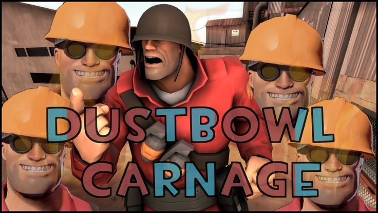 TF2 | Carnage in Dustbowl (against bots) #games #teamfortress2 #steam #tf2 #SteamNewRelease #gaming #Valve
