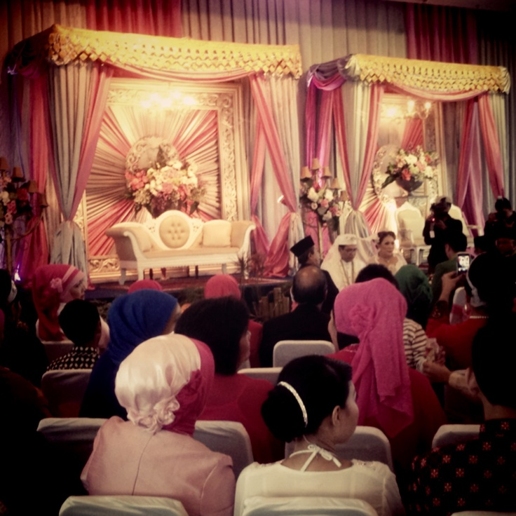 Feb 2013, Icha Wedding, Gedung Mino Bahari