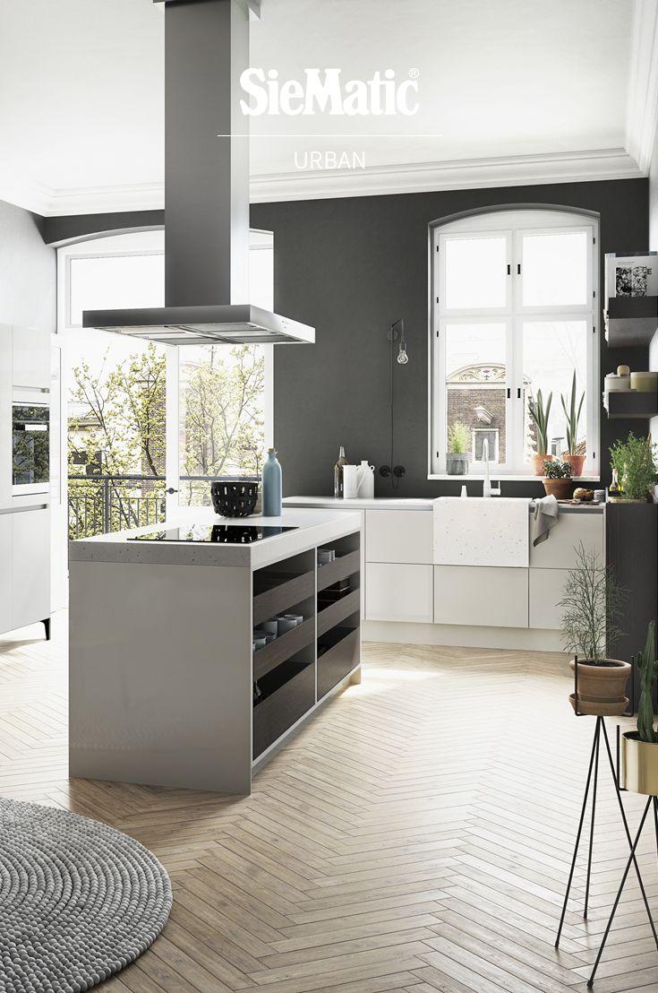 SieMatic Urban Keuken Bij Keukenstudio Maassluis #SieMatic #SieMatickeuken  #SieMatickeukens #keuken #keukens · Contemporary Kitchen DesignWine ...