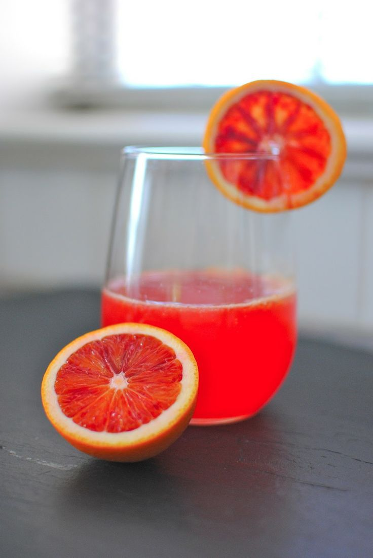 Sparkling Blood Orange Drink | Bevs | Pinterest