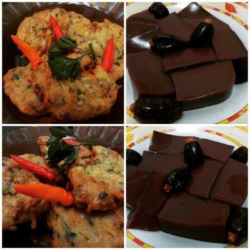 Bakwan with Chocolate kurma Jelly yummiest !