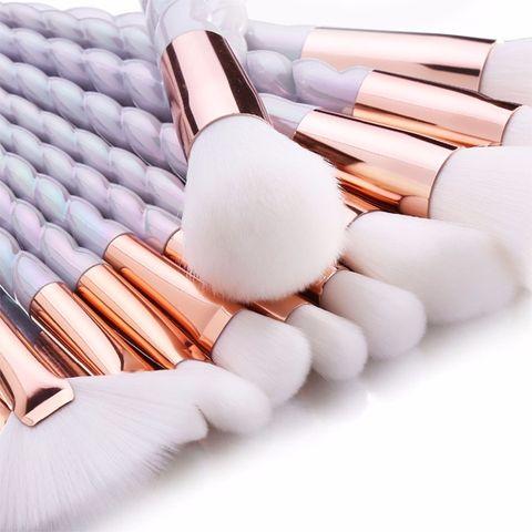 Professional 10 Piece Unicorn Brush Set [PRE-RELEASE] , Makeup Brush - My Make-Up Brush Set - US, My Make-Up Brush Set - 2