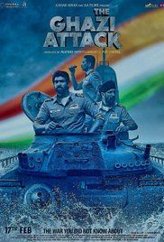 The Ghazi Attack 2017 Hindi Movie Watch Full HD Online