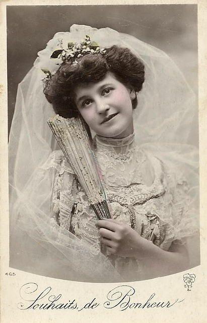 beautiful Victorian bride