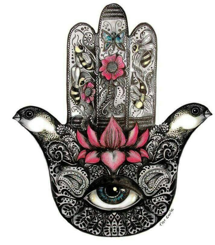 ☮ American Hippie Art ☮ Hamsa