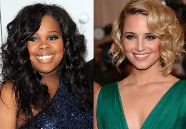 Amber Riley e Dianna Agron se despedem dos fãs e elenco de Glee no twitter