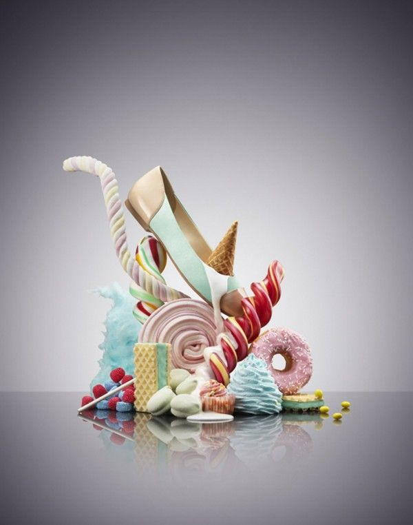 Niklas Alm - Still Life Photography. Didn't know style can look so delicious! Awesome shoes / flats photography that makes fashion so yummylicious :)