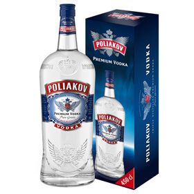 French vodka brand Poliakov has extended its range with the introduction of a 4.5 litre bottle