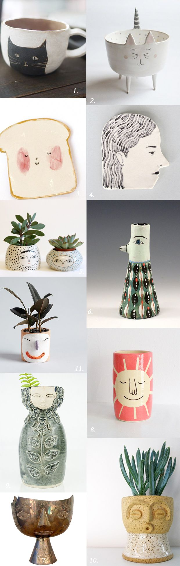Ceramics / vessels with personality