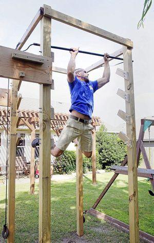 Diy Outdoor Gym
