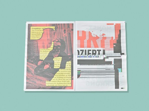Protest ist! on Behance