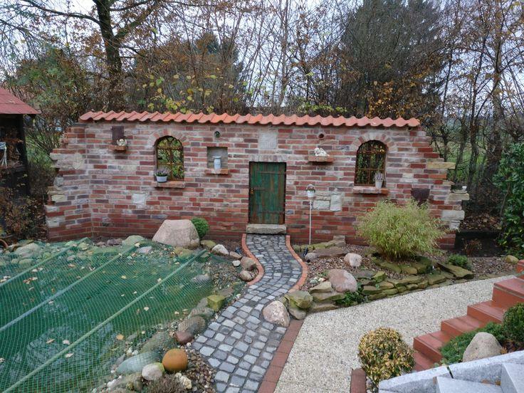 Ruinenmauer Im Garten. die besten 25+ zaun ideen auf pinterest ...