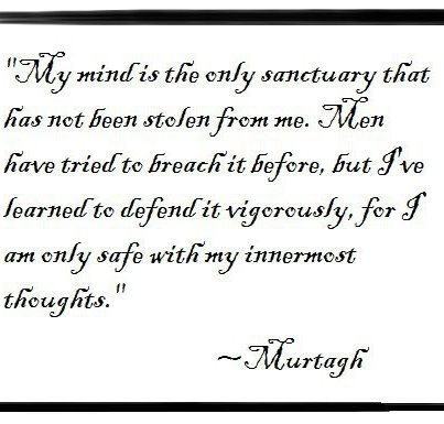 Murtagh <3. I must say, though, I can't imagine him talking in such a decorative font :P