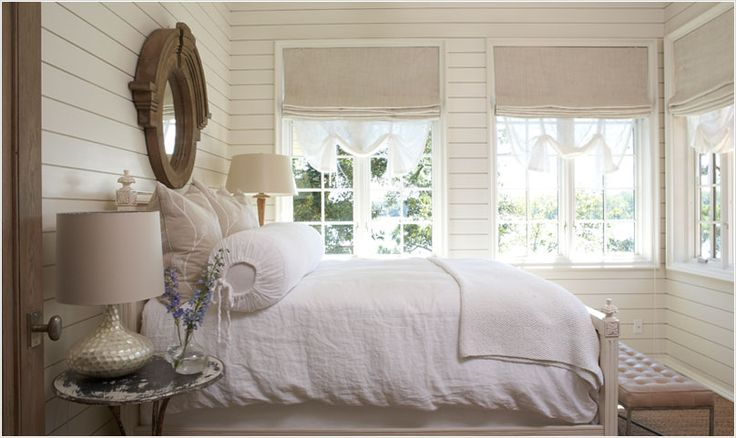 ♥Guestroom, Guest Room, Lakes House, Beach House, Beds, Cottages Bedrooms, Linens, White Bedrooms, Neutral Bedrooms