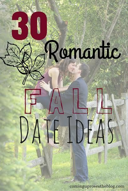 These 30 romantic fall date ideas will have you entertained and in love all season long!
