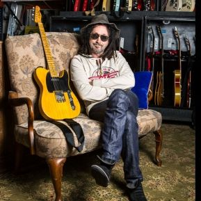 Mike Campbell with Limited edition Fender