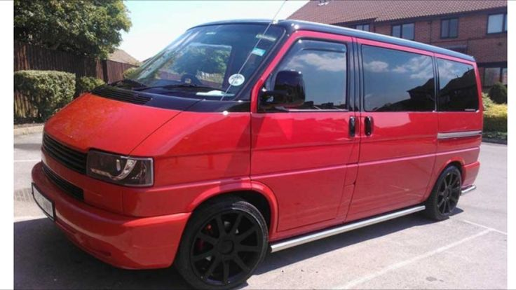 Black And Red >> VW T4 red with black roof   VAN AD   Pinterest   Vw and Cars