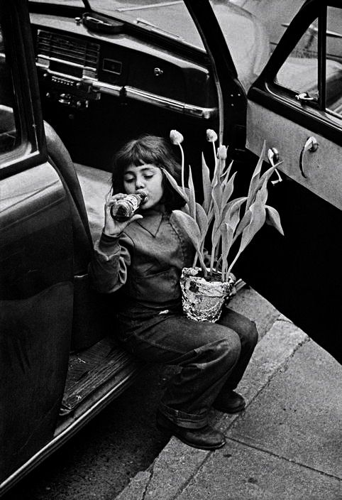W. Eugene Smith - The photographer's daughter, 1950's.