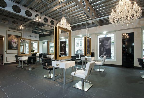 Oltre 20 migliori idee su saloni di parrucchieri su for Capelli arredamenti