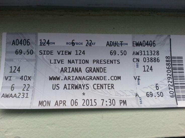 ariana grande concert tickets 2015 meet and greet