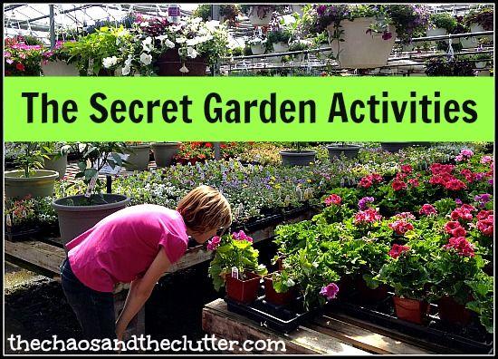 Activities to Accompany The Secret Garden - snacks, printables, field trip, sensory