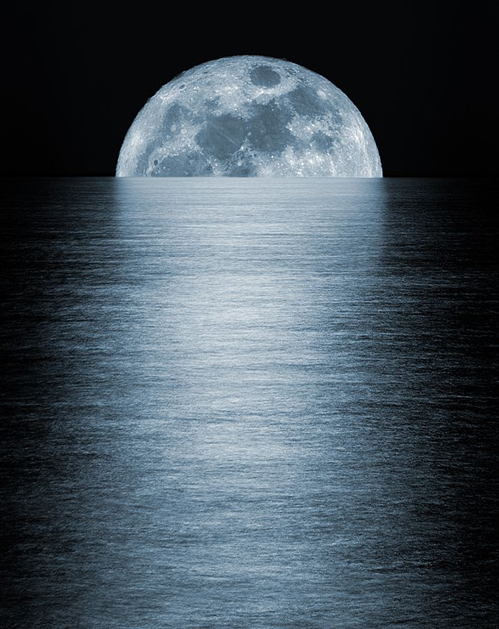 Super Moon by Nella Pascal, via 500px
