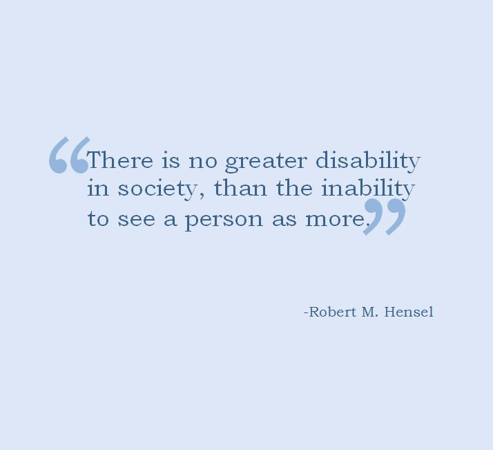 Disability quote. #disabilities #Disabilityquotes #ability