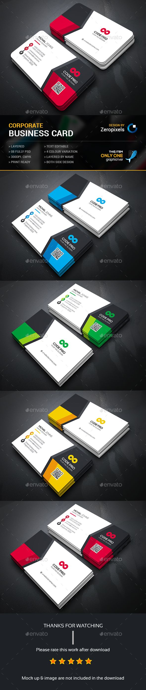 Business Card Template PSD. Download here: http://graphicriver.net/item/business-card/14673637?ref=ksioks