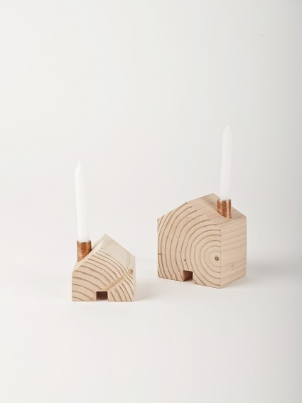 Homestead Candlesticks by Ladies & Gentlemen Studio - Douglas + Bec
