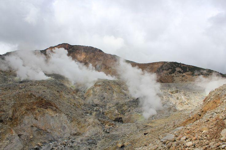 Mount Papandayan 2.665 mdpl , Garut West Java, Indonesia