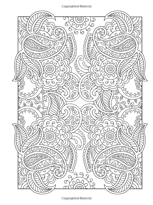 Creative Haven Mehndi Designs Coloring Book: Traditional Henna Body Art: