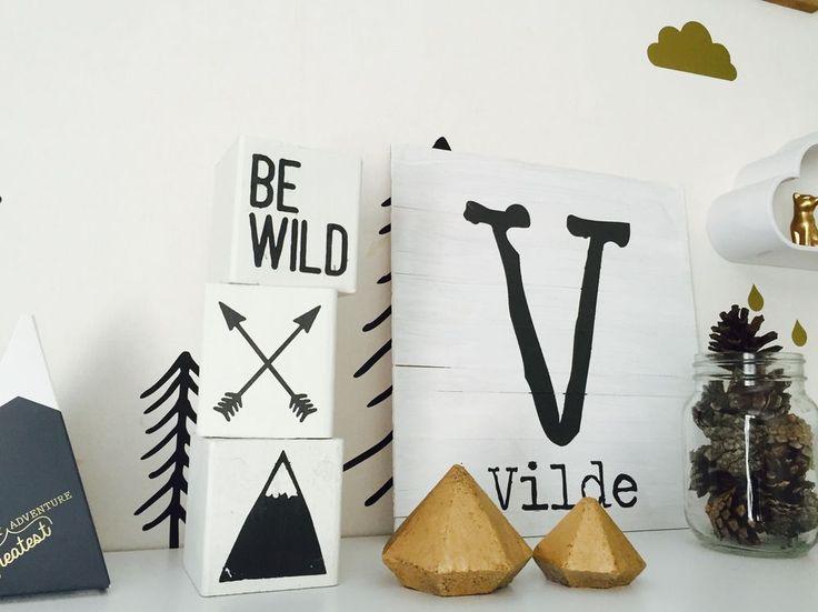 ALKEMISTEN DIY - barnrum childrens room kids room mountain berg räv fox bear kudde pillow inspiration wild
