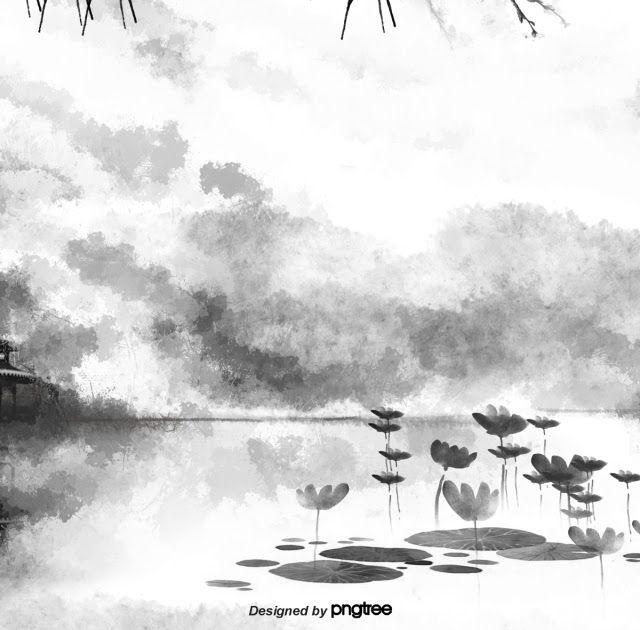 Paling Keren 30 Lukisan Gambar Pemandangan Yang Cantik Cina Yang Cantik Gaya Hitam Dan Putih Lanskap Dakwat Lukisan Download Da Di 2020 Pemandangan Gambar Lanskap
