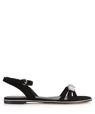 Bee black gem embellished sandals Sale - Carvela Sale