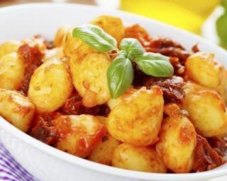 Gnocchis à la tomate et safran au Cookeo