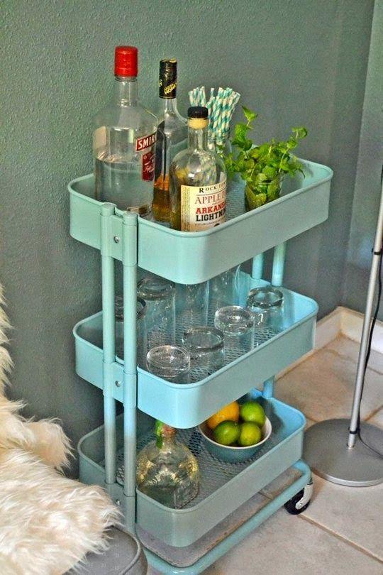 20 ideias de decoração para você fazer um bar em casa.   Um lar para Amar - Blog de decoração.