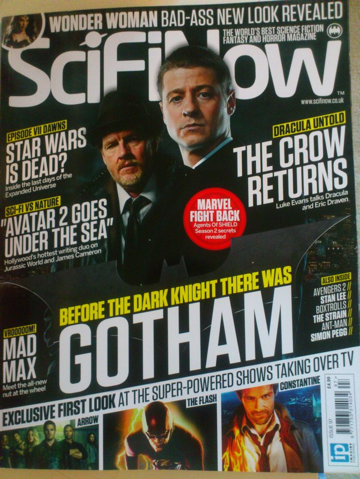 ScifiNow Issue 97  #gotham #arrow #starwars