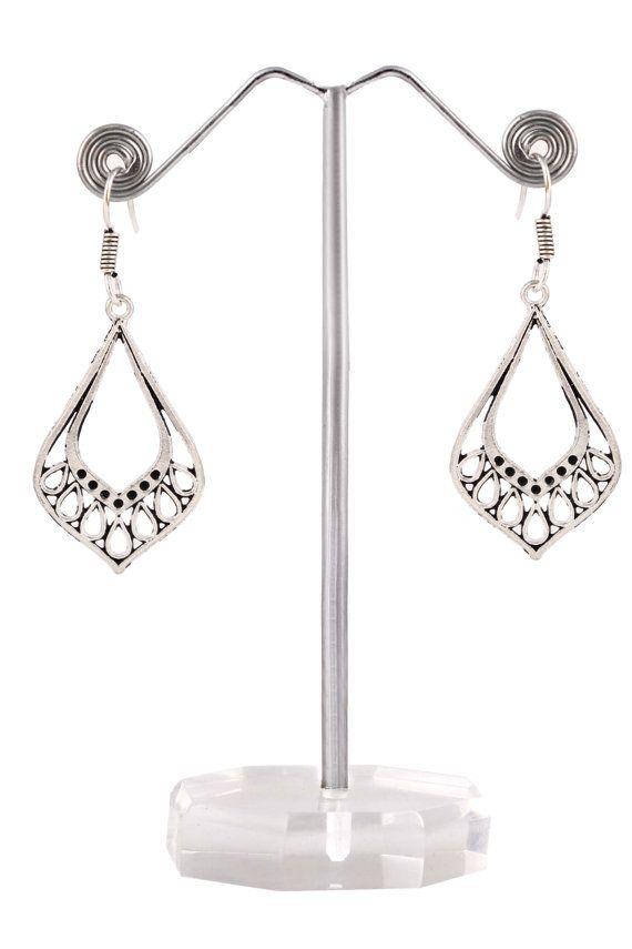 Traditional Style Girl's Earrings Fancy Design by AdornmixJewels