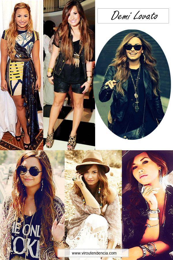 Estilo das Famosas - Estilo da Demi Lovato - Demi Lovato's Style - Looks Demi Lovato http://viroutendencia.com/2014/04/21/como-copiar-o-estilo-da-demi-lovato/