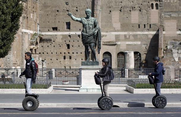 #Turisti a #Roma
