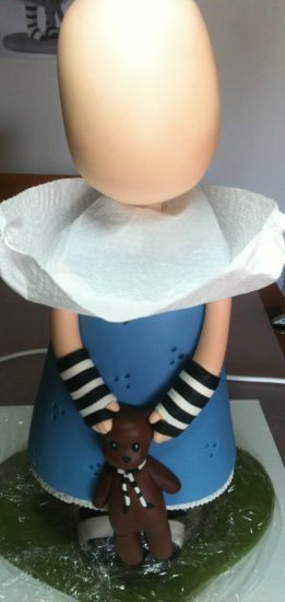 3D Gorjuss Cake - Cake by Bolo em Branco [by Margarida Duarte] - CakesDecor