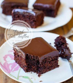 5 Çaylarımızın olmazsa olmaz keki nedir tabi ki Çikolata soslu ıslak kek hala yapmayanlar vamı?