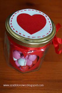 szabblonowo: Easy DIY Valentine's craft.