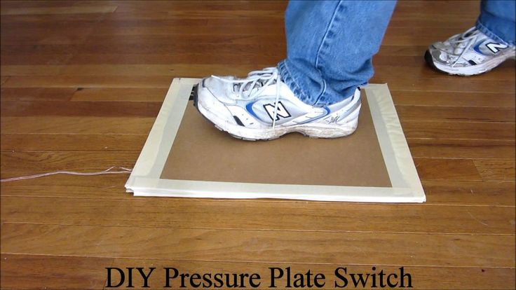 Use a DIY Pressure Plate Switch to Automate Your Haunted House #halloween #special_effects
