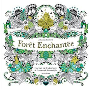 Enchanted Forest Hutan Pesona Inky An Quest Colouring Book